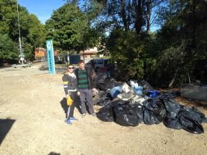 Ben And at Trash Pile